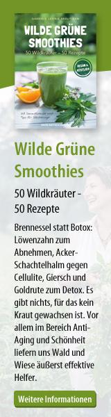 Wilde grüne Smoothies