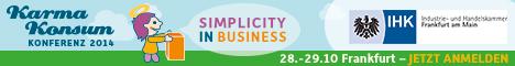 KarmaKonsum Konferenz 2014   Simplicity in Business