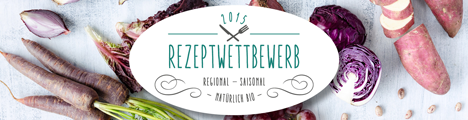 Rezeptwettbewerb 2015. Regional - saisonal - natürlich bio!