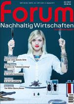forum Nachhaltig Wirtschaften 02/2017. Hier bestellen!