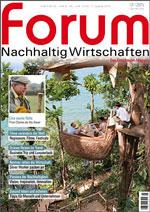 forum Nachhaltig Wirtschaften 01/2015. Hier bestellen!