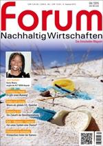 forum Nachhaltig Wirtschaften 04/2015. Hier bestellen!