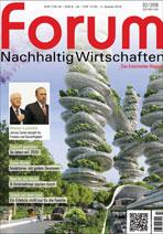 forum Nachhaltig Wirtschaften 02/2016. Hier bestellen!