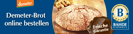 BAHDE Biobrote - Demeter-Brot online bestellen - mit Frische-Garantie!