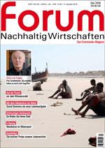 forum Nachhaltig Wirtschaften 04/2016. Hier bestellen!