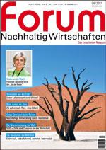 forum Nachhaltig Wirtschaften 04/2017. Hier bestellen!