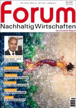 forum Nachhaltig Wirtschaften 03/2017. Hier bestellen!