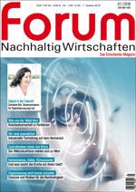 forum Nachhaltig Wirtschaften 01/2018. Hier bestellen!