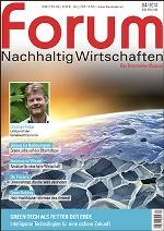 forum Nachhaltig Wirtschaften 04/2014. Hier bestellen!